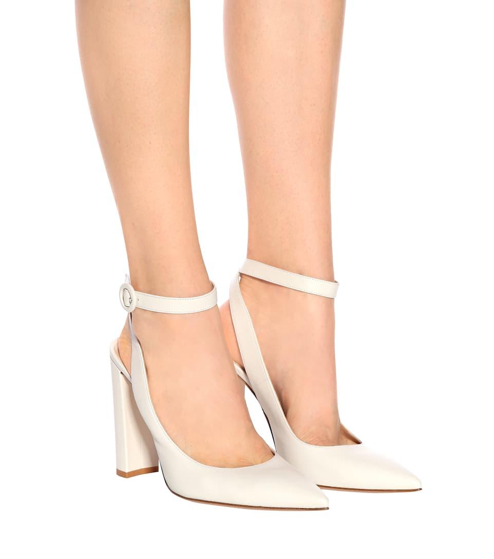 Exclusive to mytheresa.com - Deva leather sandals Gianvito Rossi pIibWt
