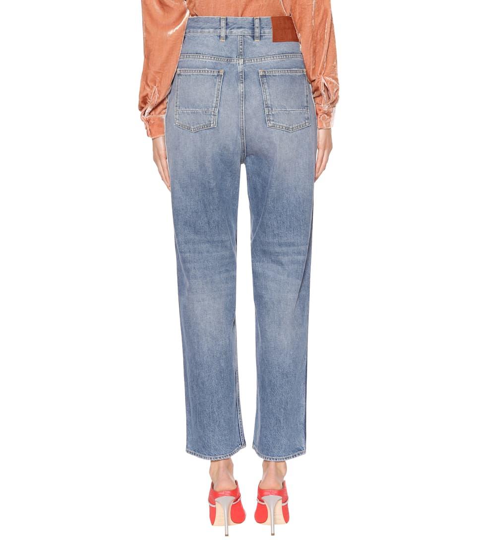 Golden Goose Deluxe Brand Weite Jeans Kim aus Baumwolle