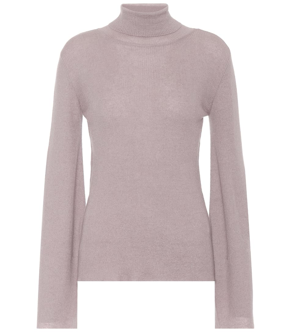 RYAN ROCHE CASHMERE TURTLENECK SWEATER