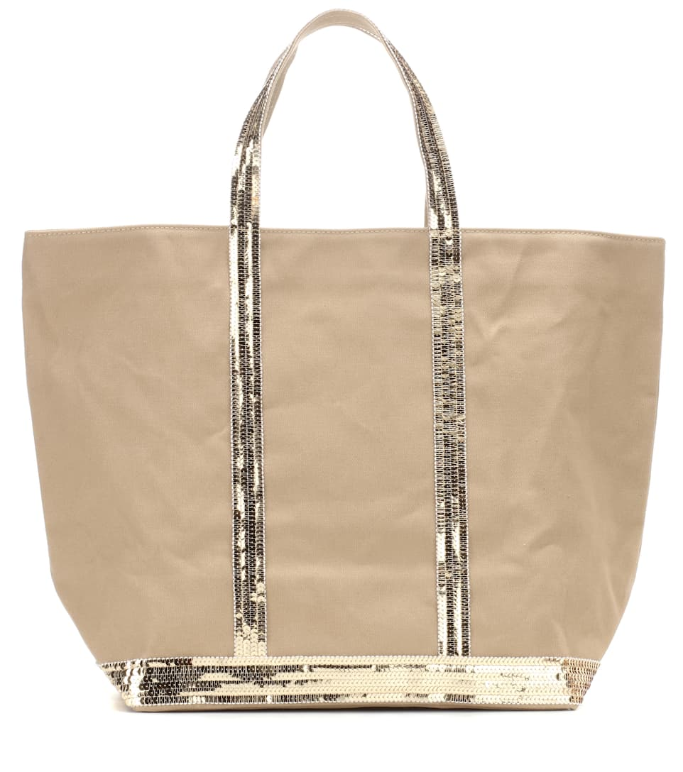 Vanessa Bruno Shopper Cabas Medium aus Canvas