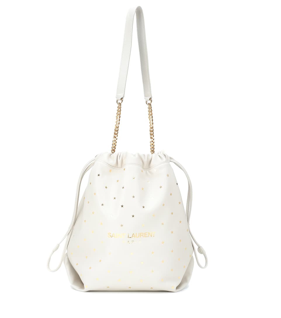 Seau En Laurent Cuir Teddy Saint Sac N8nOk0wXP