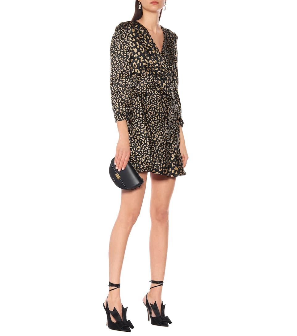 Rixo - Miniabito a stampa leopardata in seta | Mytheresa HrKLSyfZ