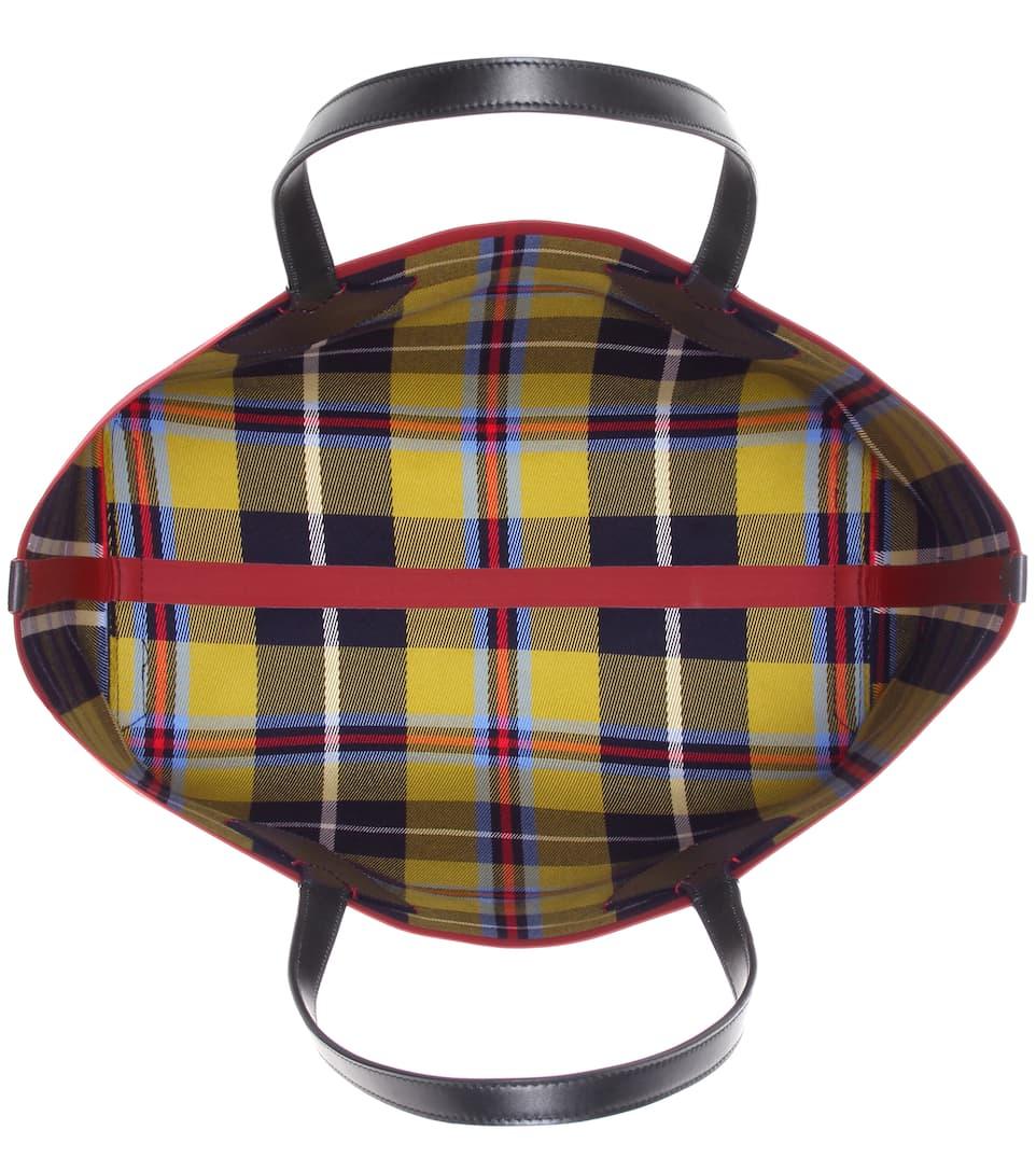 Verkauf Der Neuen Ankunft Für Schönen Günstigen Preis Burberry Shopper Large aus Twill und Leder h9hmbmo9o2