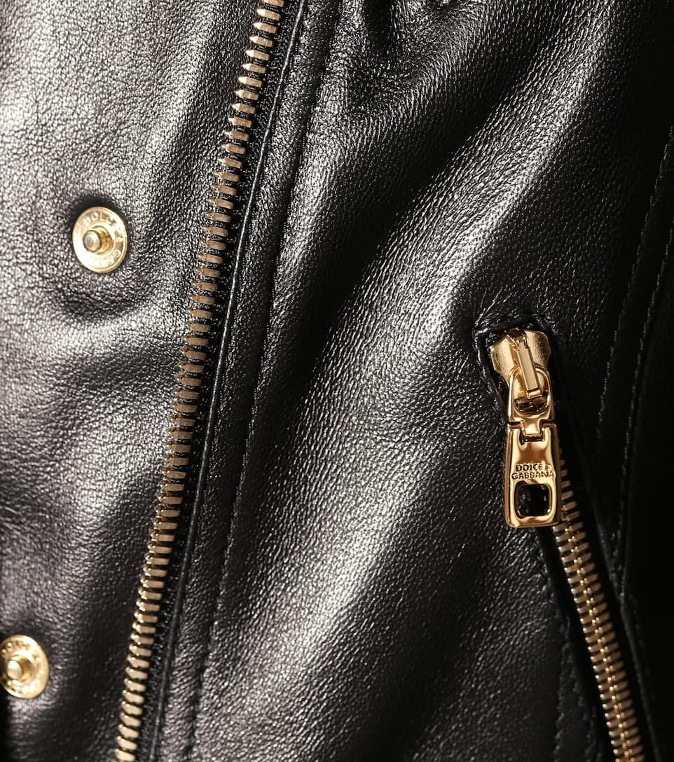 Dolce & Gabbana Cropped-Lederjacke
