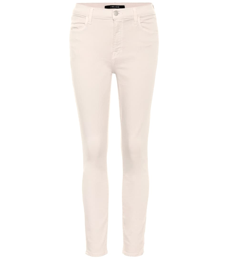 J Brand Mid-Rise Cropped Jeans Alana