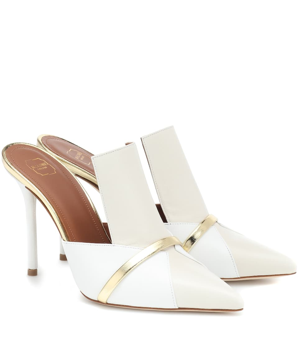 Danielle Luwolt 100 Leather Mules by Malone Souliers