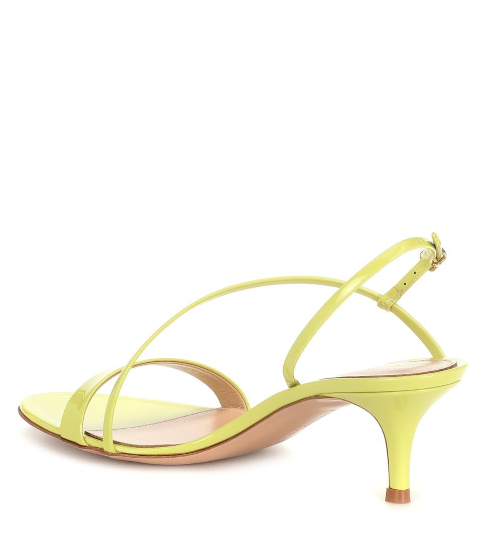 Sandales Manhattan 55 en cuir verni
