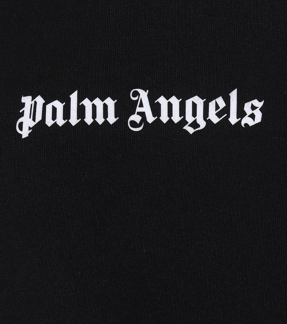Palm Angels - Logo cotton hoodie