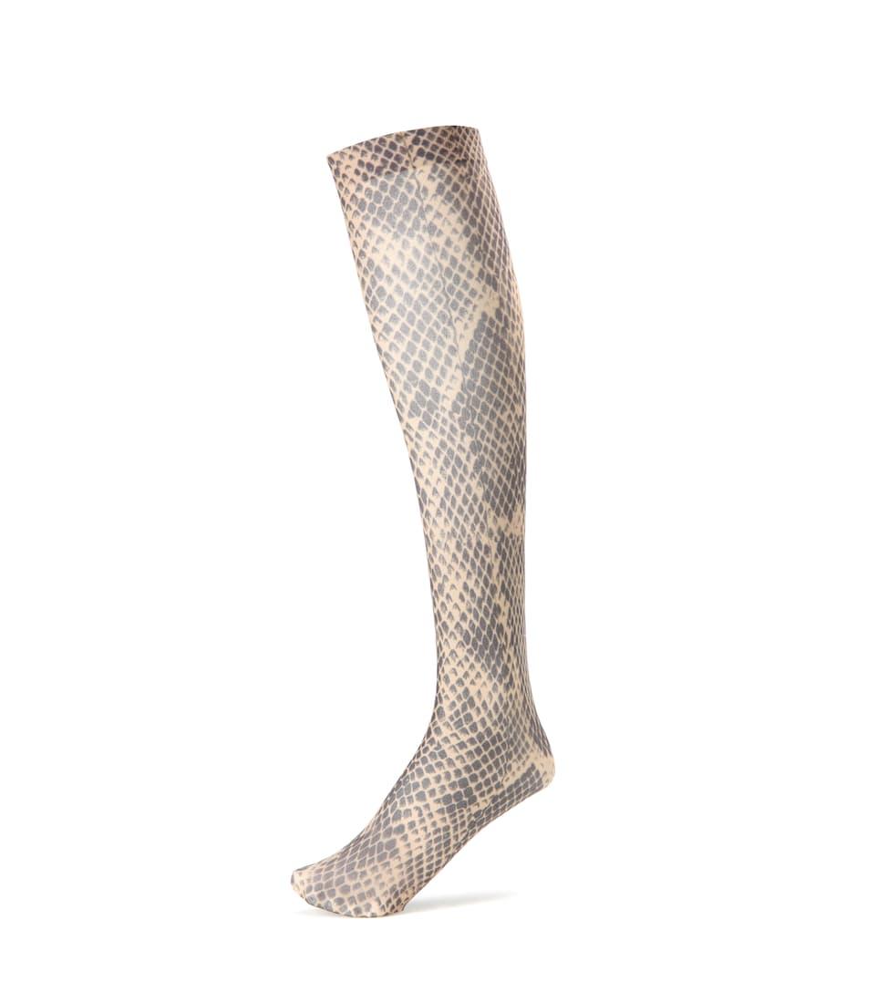 Dries Van Noten Bedruckte Socken aus Wolle und Cashmere