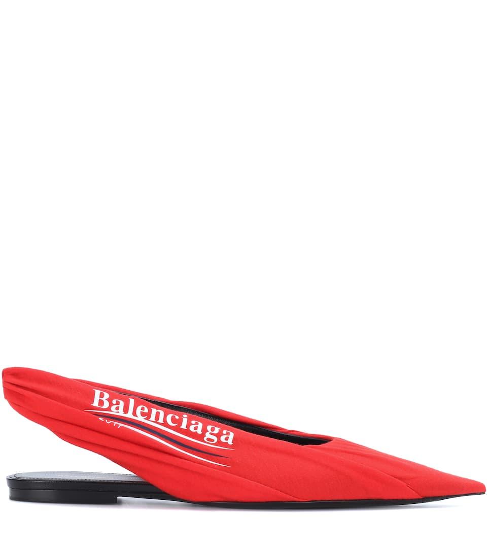 Balenciaga Printed ballerinas