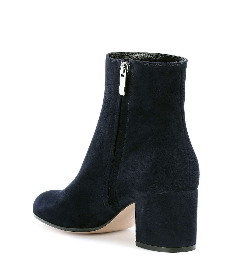 Gianvito Rossi Exclusively At Mytheresa.com - Ankle Boots From Suede Margaux