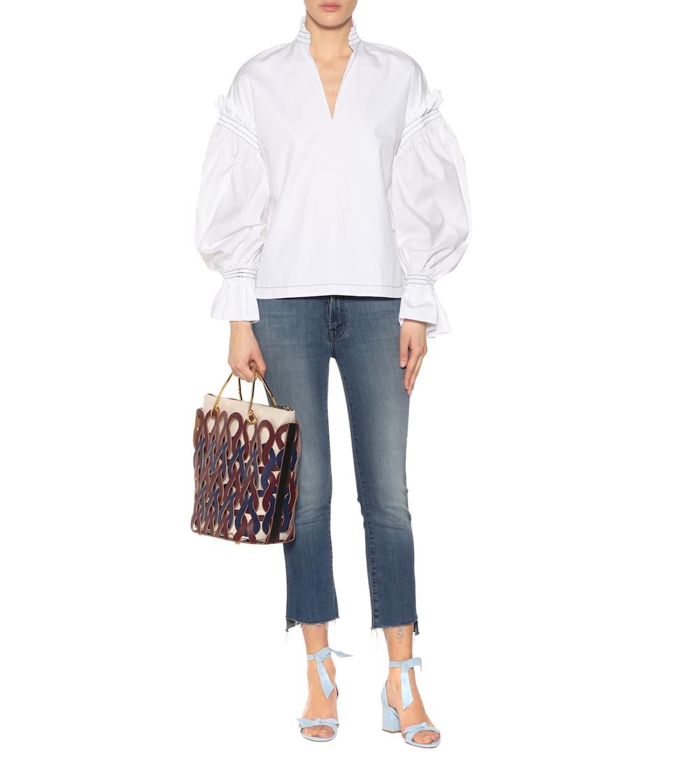 Jonathan Simkhai Oversize-Bluse aus Baumwolle