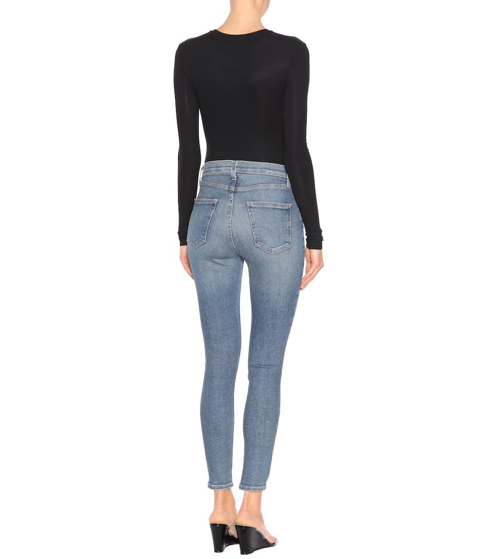 Current/Elliott High-Rise Skinny Jeans The Stiletto