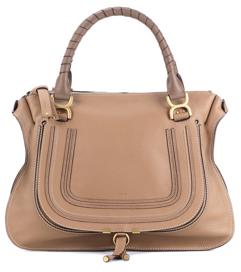 MARCIE LARGE LEATHER TOTE