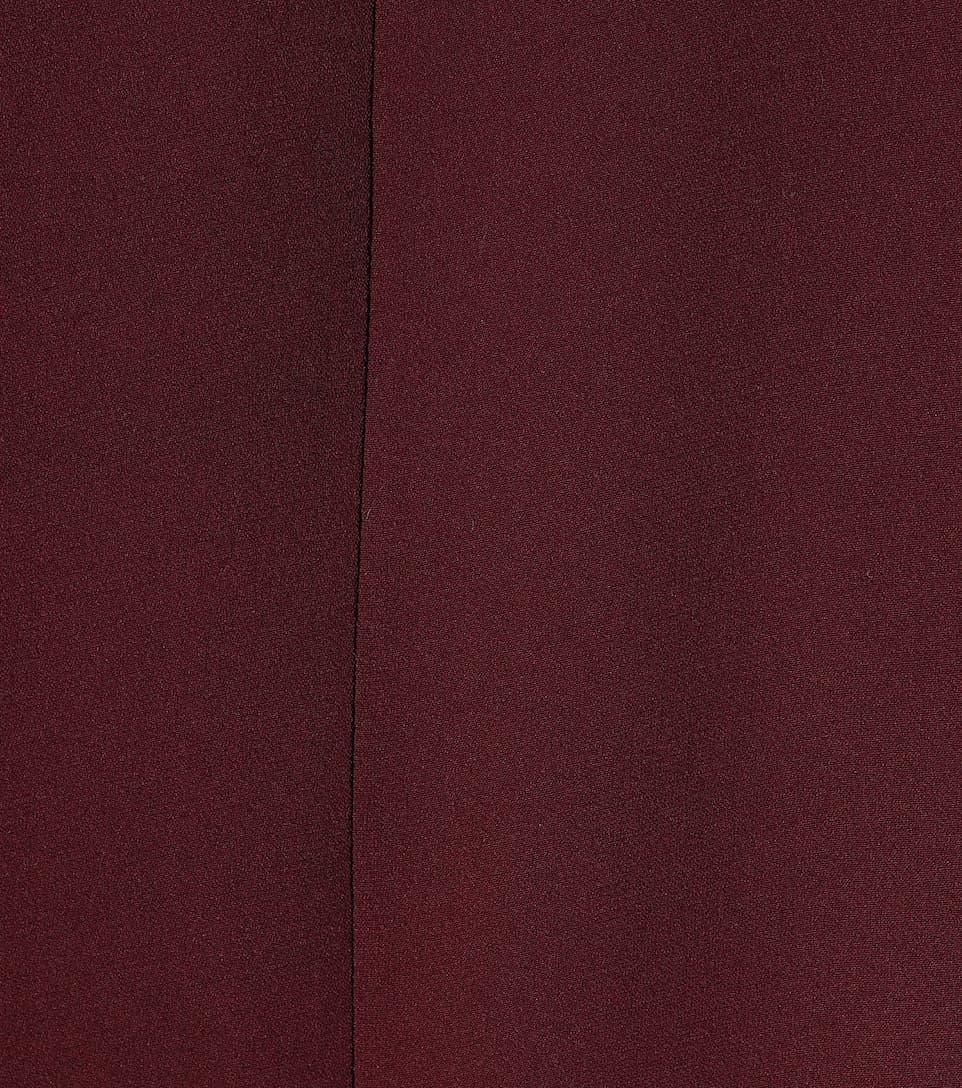 Valentino - Robe cape en soie La Qualité De La France Pas Cher kuckW