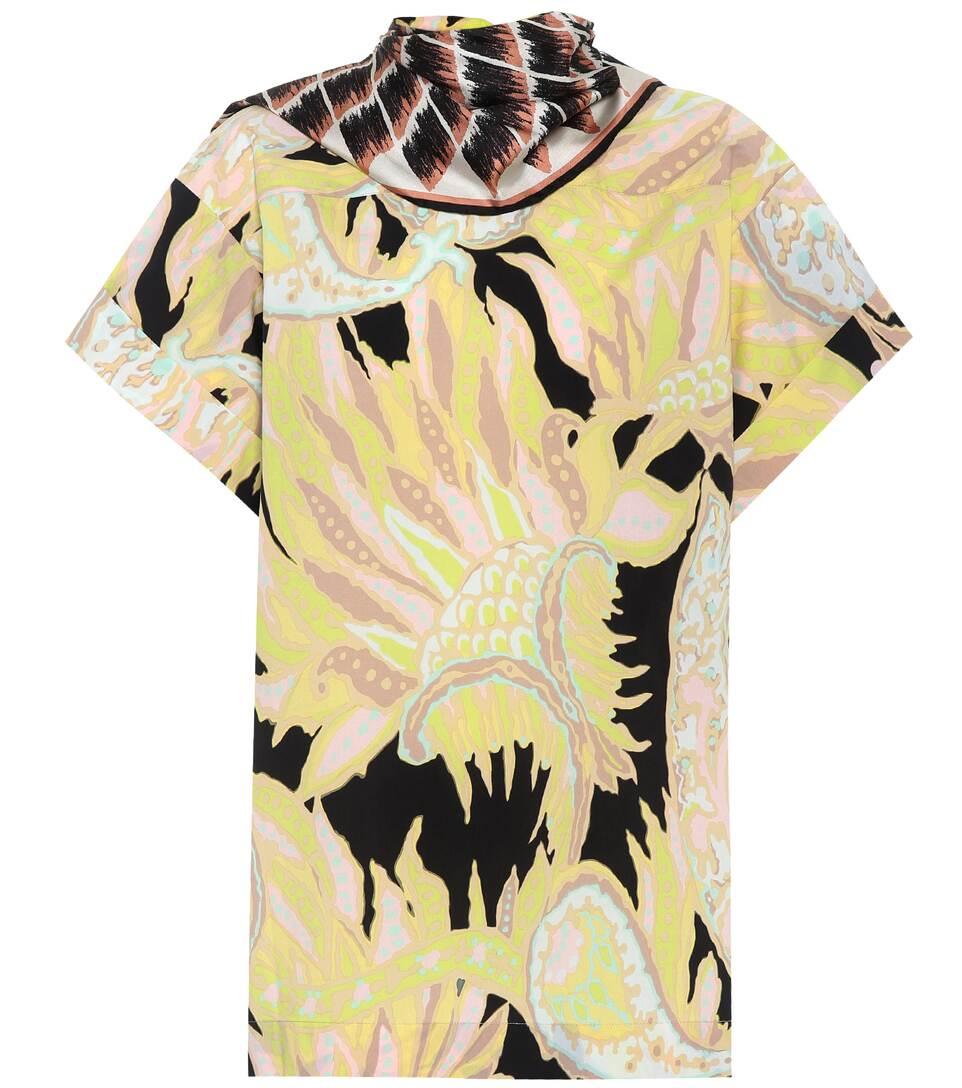 Dries Van Noten Bedrucktes T-Shirt Coxi aus Baumwolle