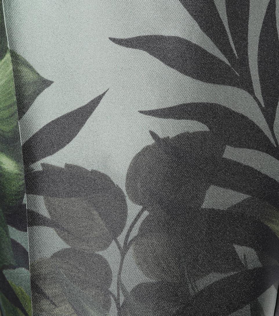 F.R.S For Restless Sleepers Bedruckte Pyjama Hose Etere aus Seide