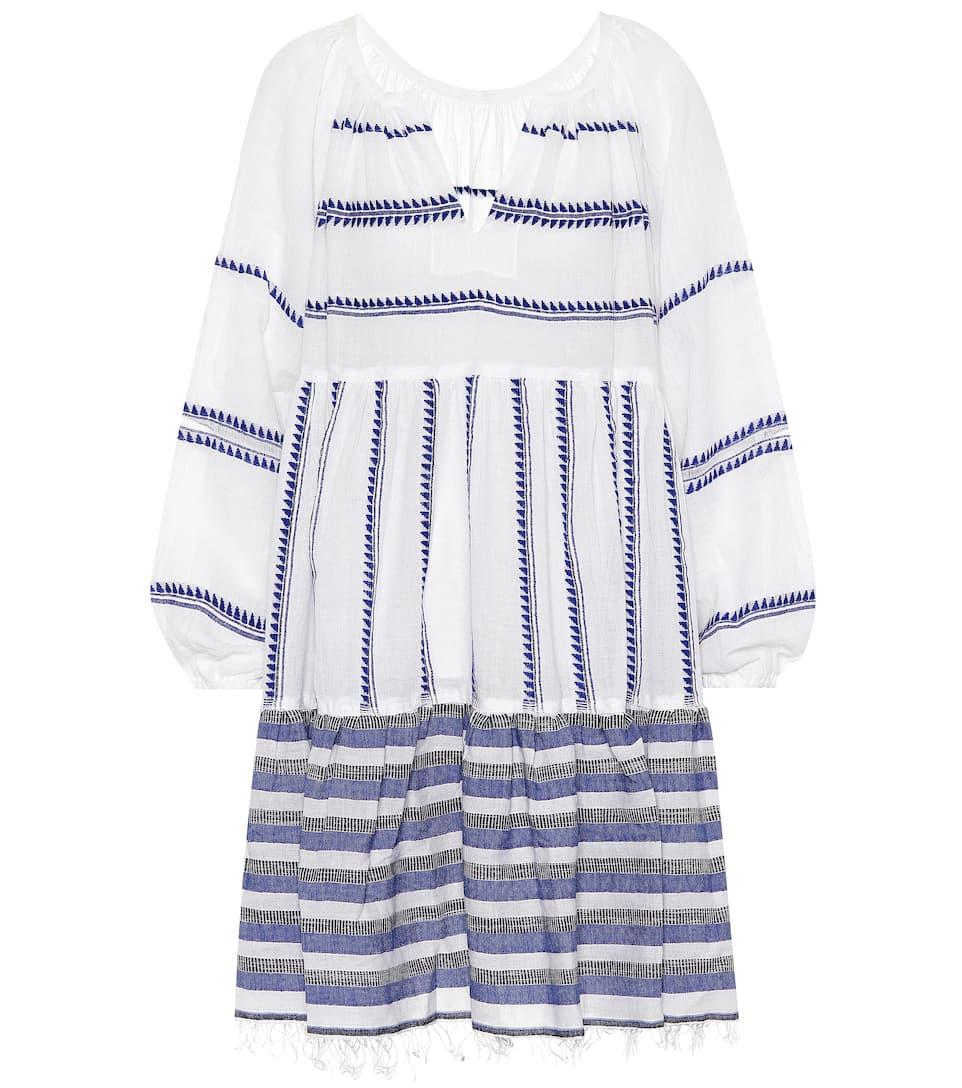 Lemlem Kleid aus einem Baumwollgemisch