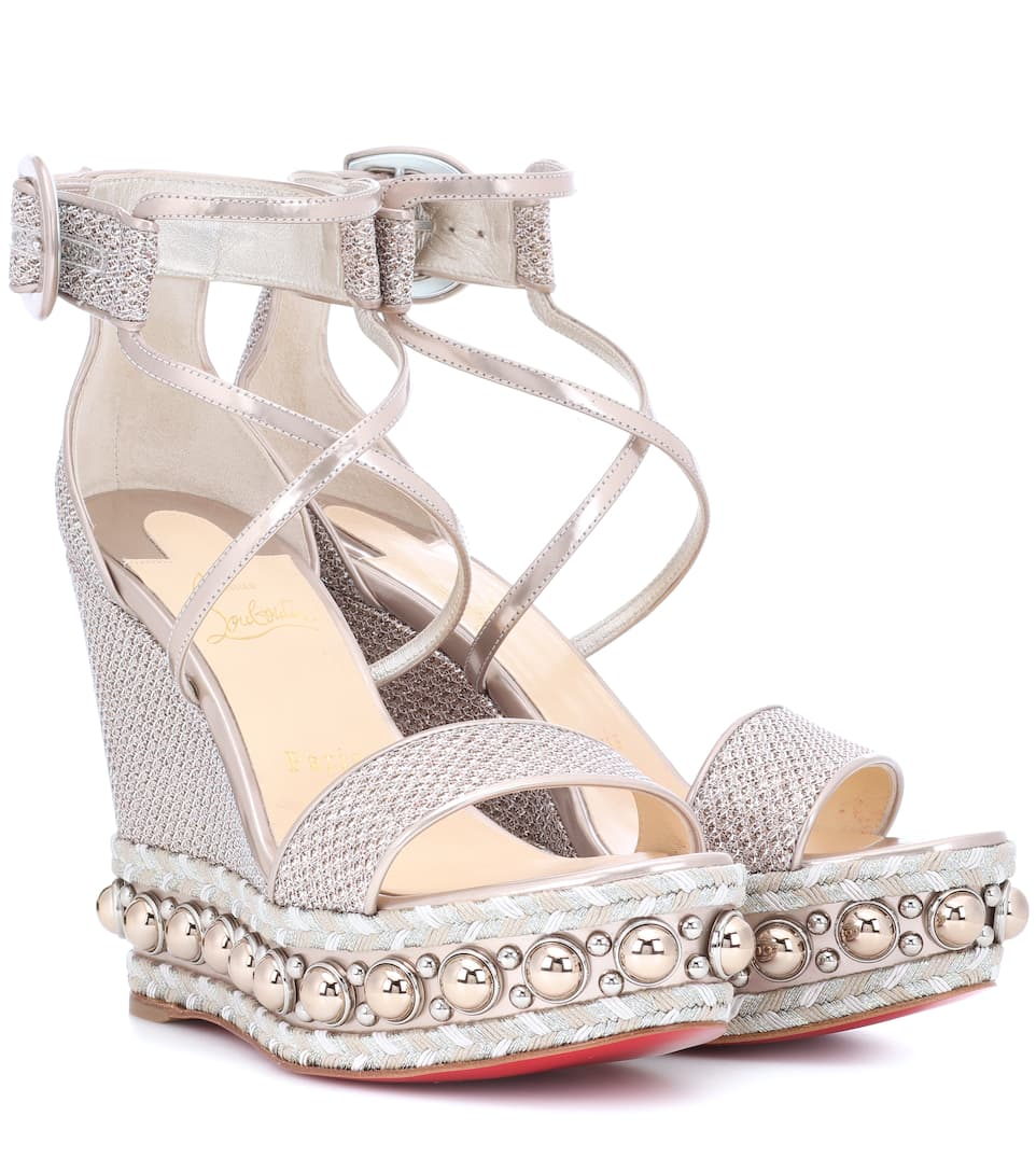 d1afda1c056 Chocazeppa 120 Wedge Sandals - Christian Louboutin