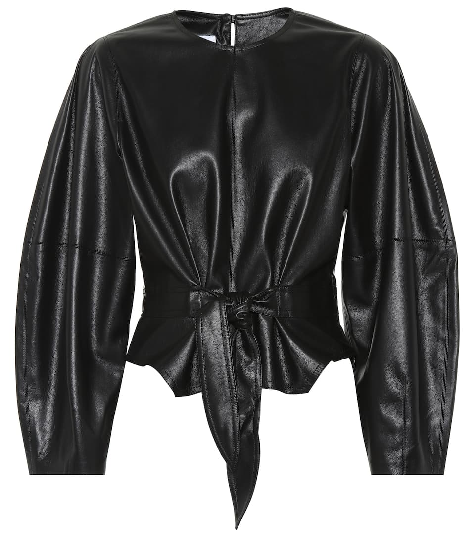 998769d09bffb1 Nanushka - Corsa faux leather top | Mytheresa