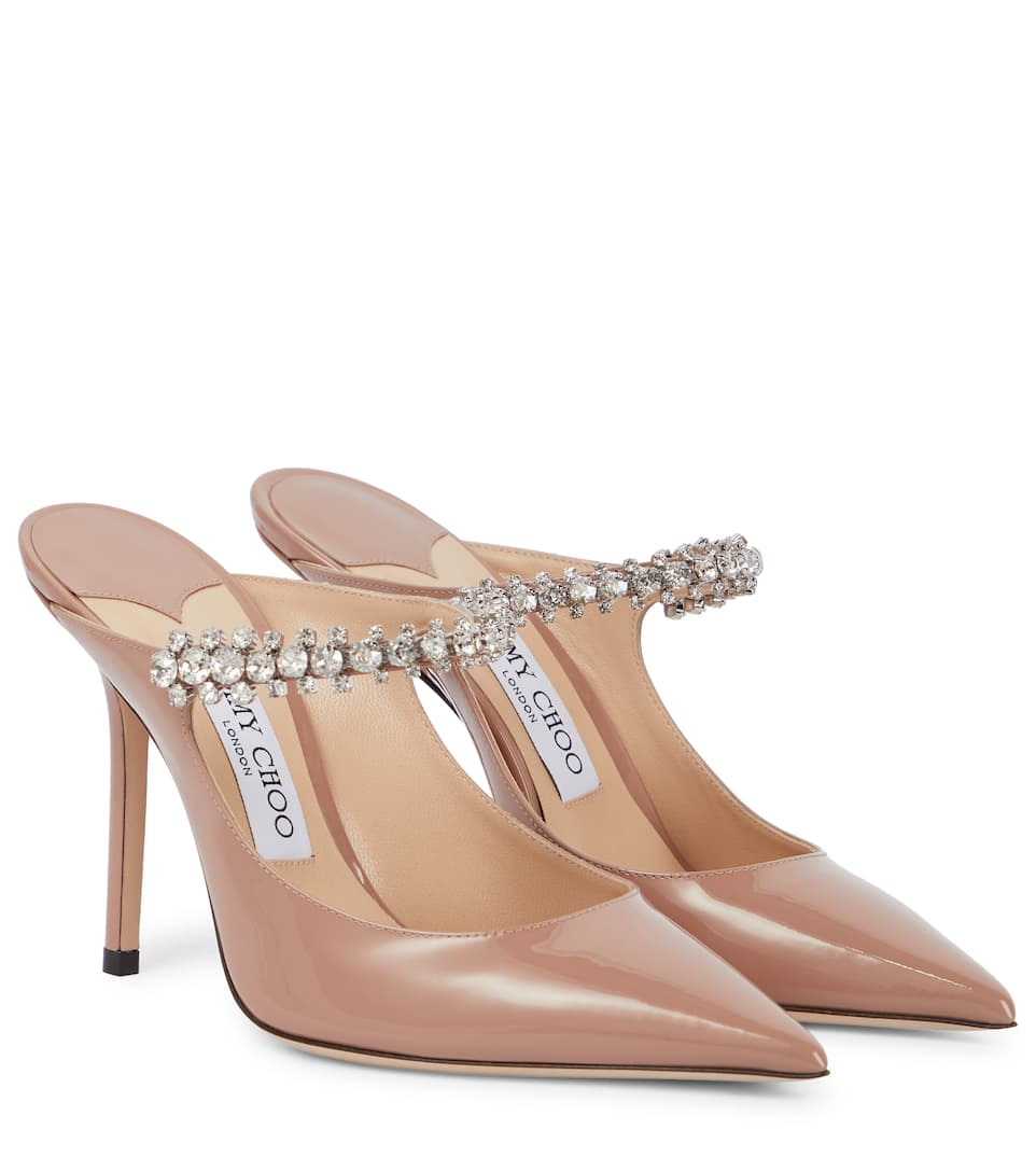 Bing 100 Patent Leather Mules | Jimmy