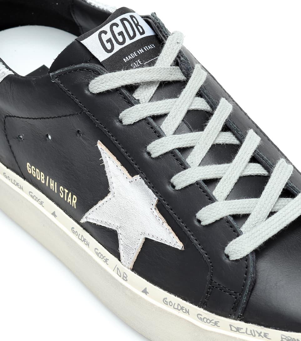 Golden Goose - Sneakers Hi Star in pelle