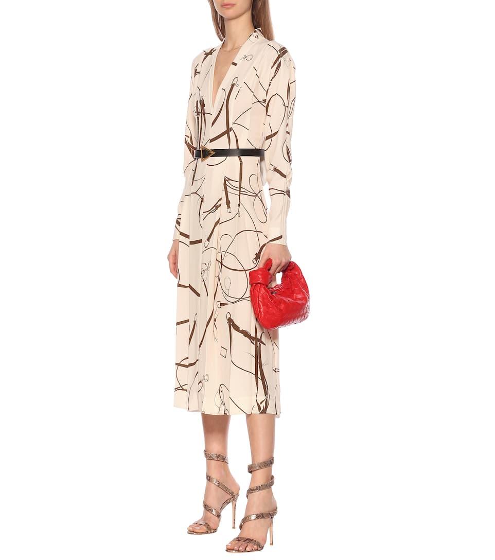 Victoria Beckham - Printed midi dress