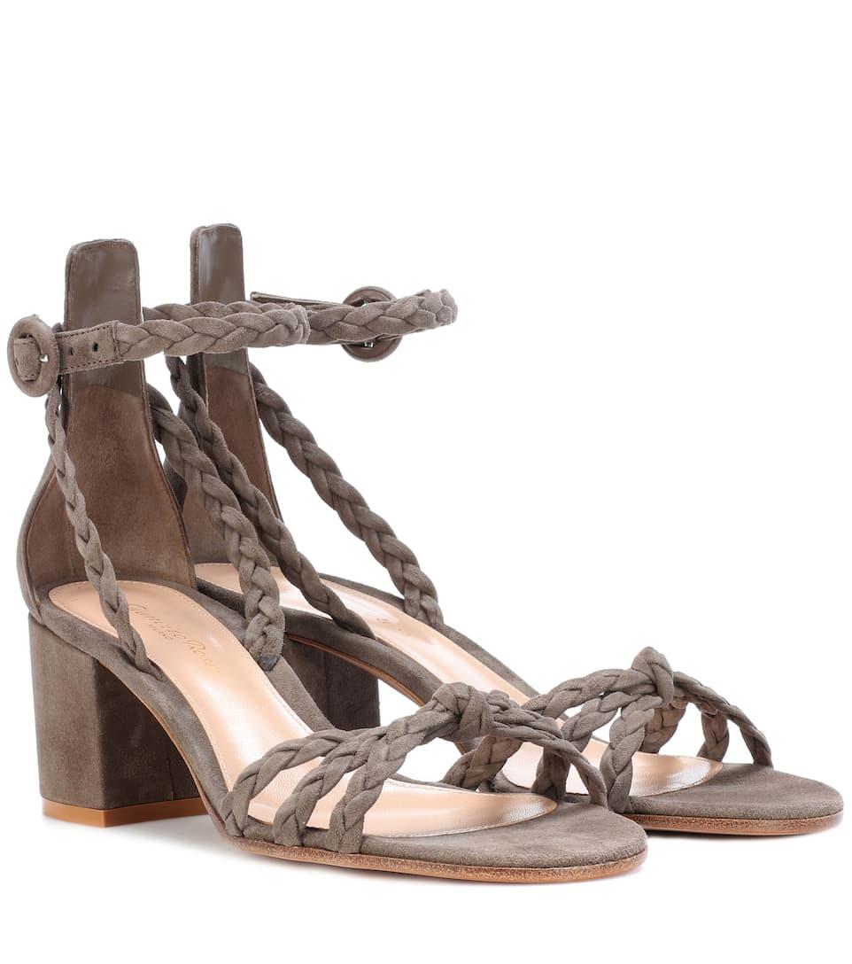 Sandales En Daim Liya