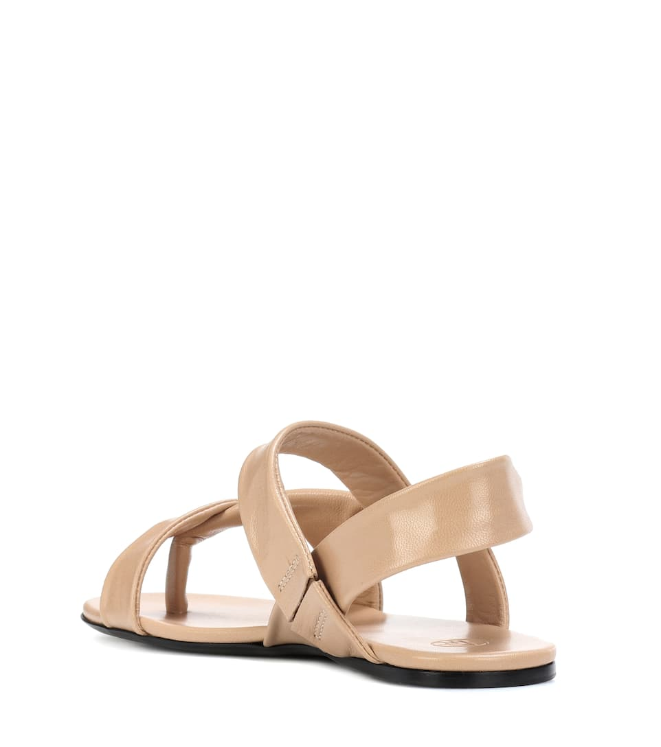 The Row Sandalen Giada aus Leder