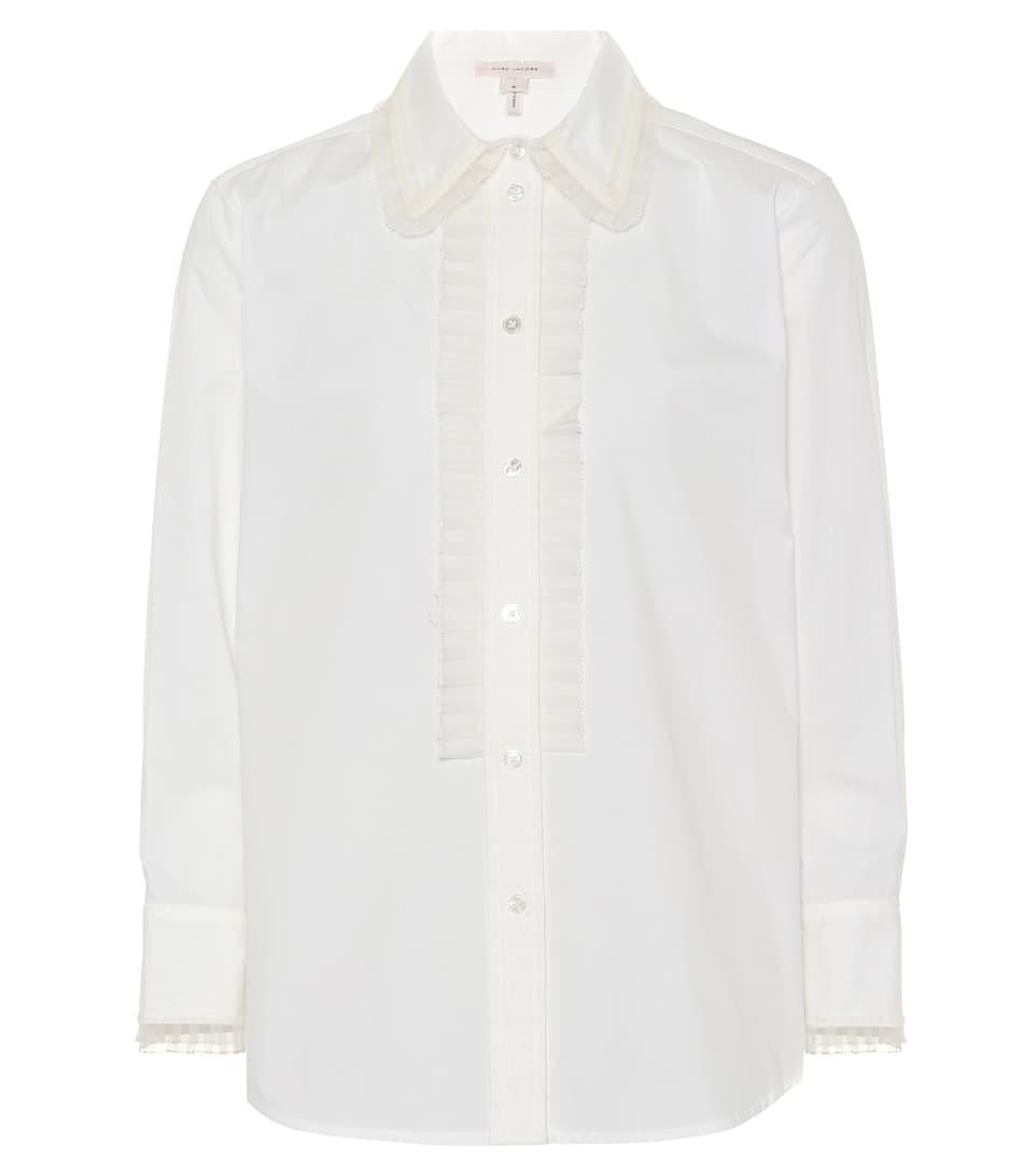 Marc Jacobs Hemdbluse aus Baumwolle