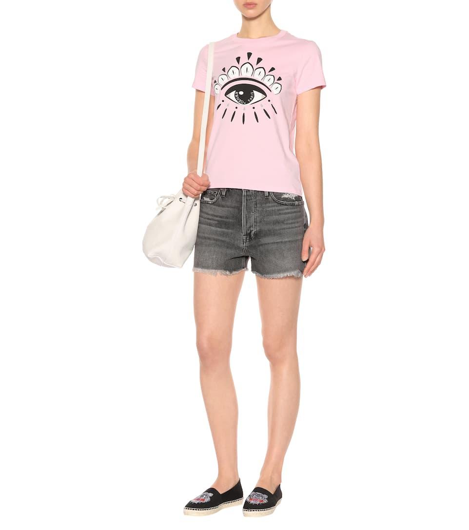 Frame Jeansshorts aus Baumwolle Rabatt Offizielle Seite Niedriger Preis Versandkosten Für Online-Verkauf Outlet Top-Qualität Niedriger Preis Günstiger Preis KhmI9pDk1H