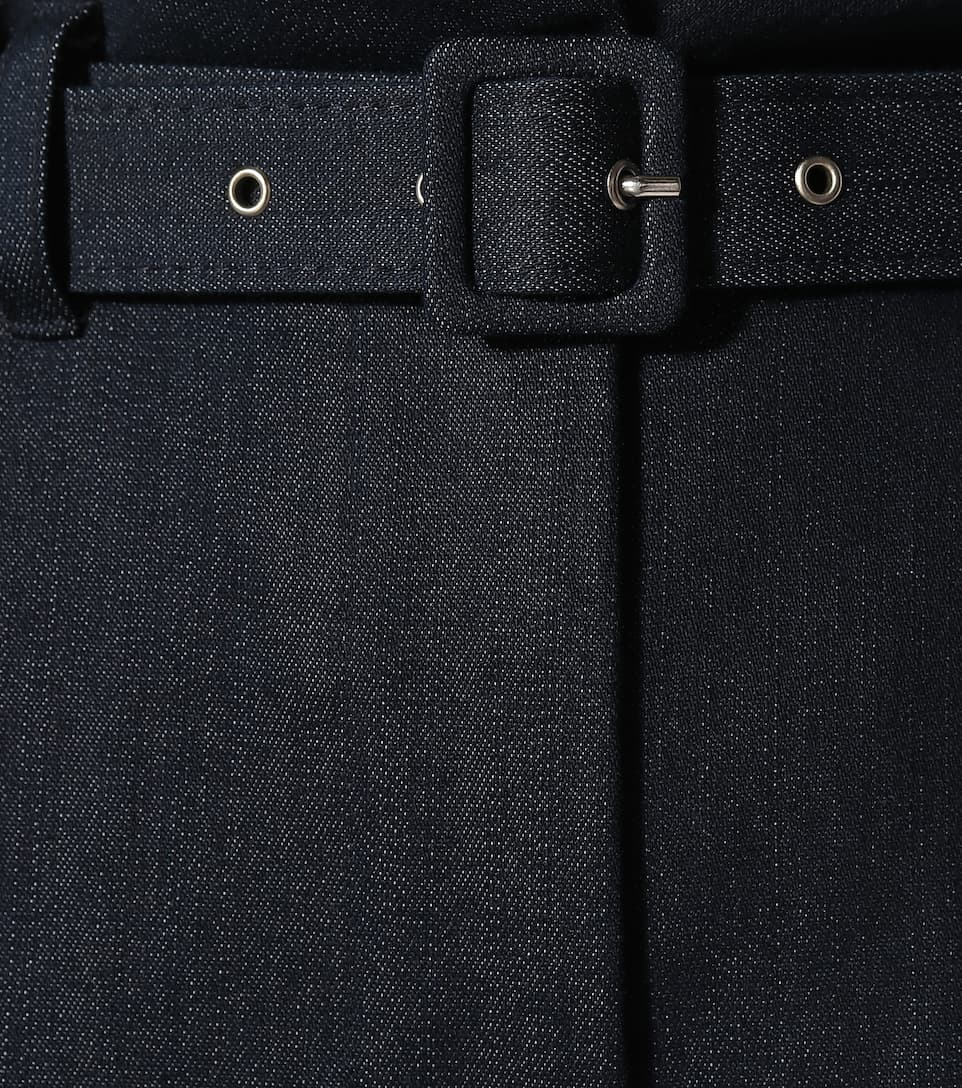 Paperbag Arfen jeans Denim Isa alta cintura de 5vwZq