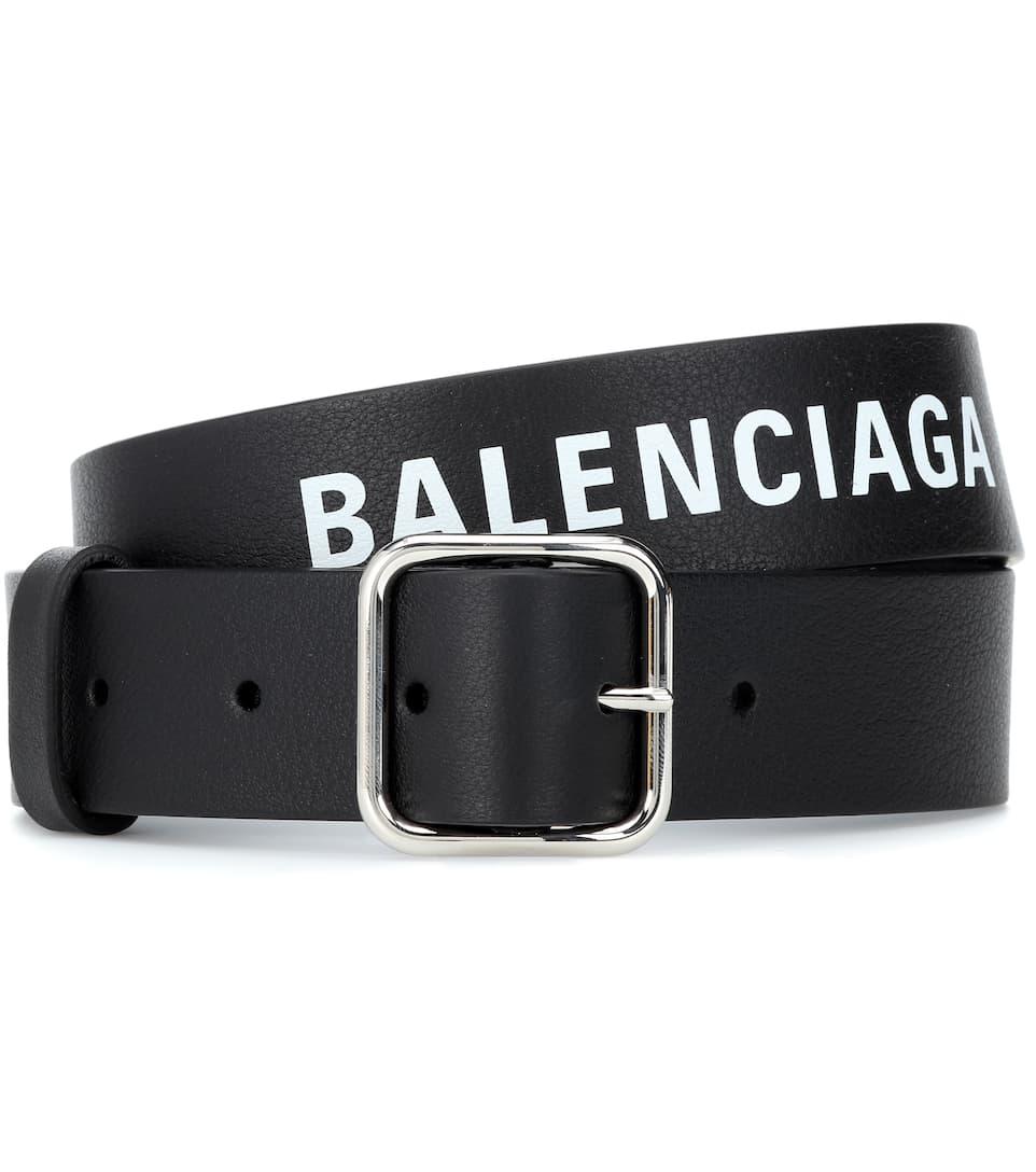 dde31ec64 Balenciaga - Everyday leather belt   Mytheresa