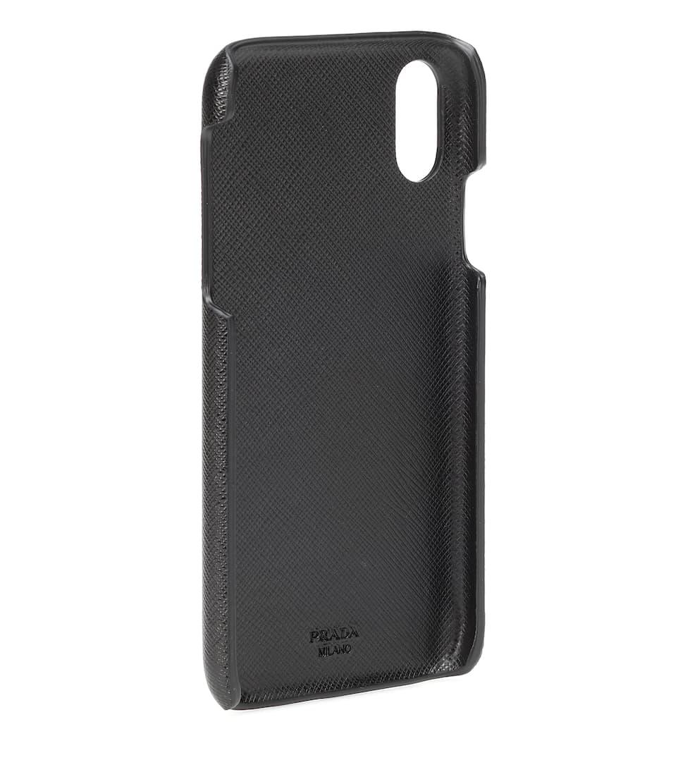 0a7af5d1c9 Saffiano Leather Iphone Case - Prada | Mytheresa