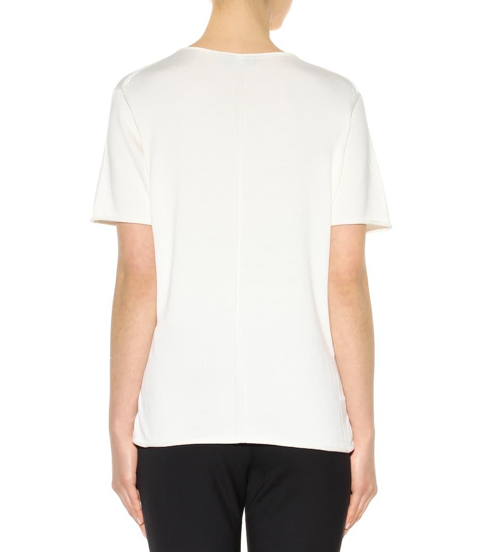 The row rohanna silk and cotton t shirt for Cotton silk tee shirts