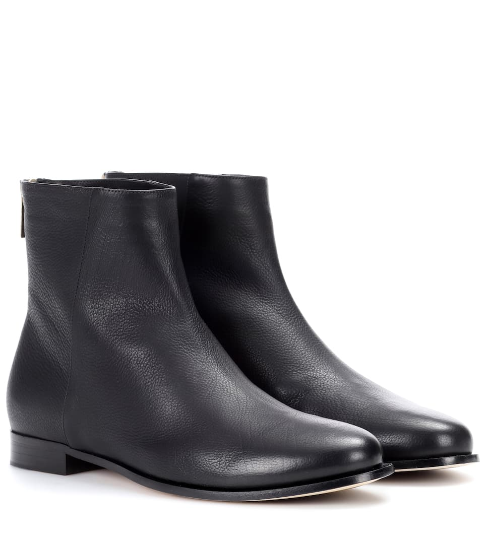 Jimmy Choo Duke leather ankle boots