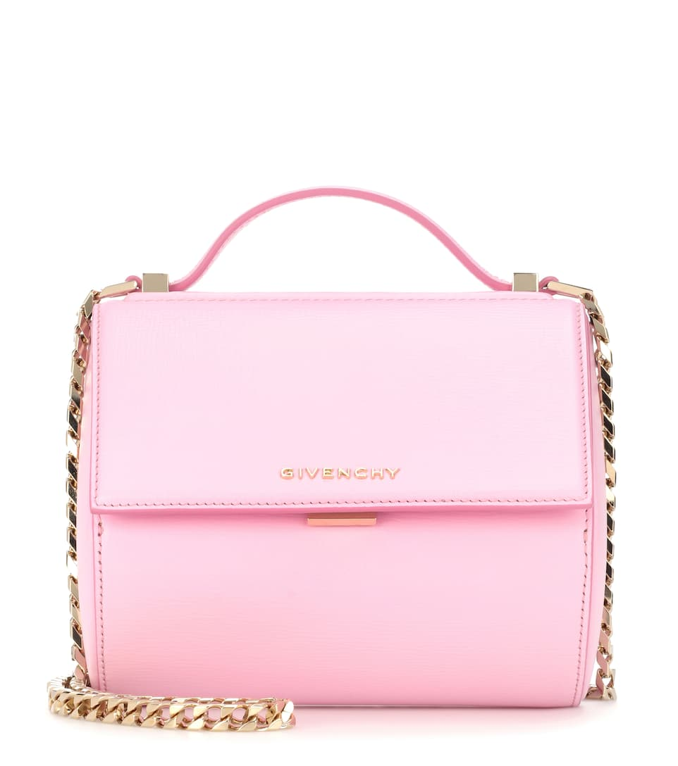 Givenchy - Pandora Box Chain leather shoulder bag | mytheresa.com