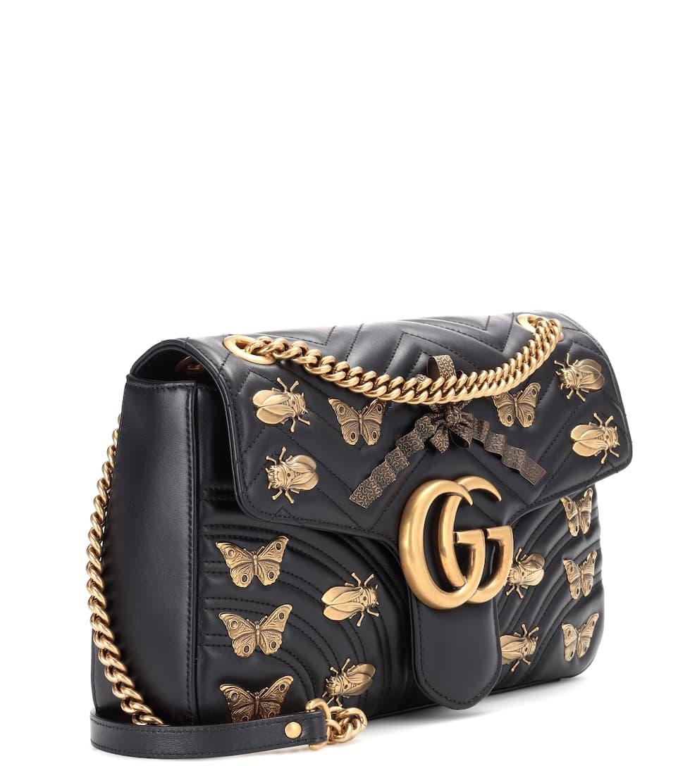 Gucci Schultertasche GG Marmont Medium aus Matelassé-Leder Versorgung Günstiger Preis Gemütlich Ausgang Wählen Eine Beste Verkauf Wie Viel Billig Verkaufen swvH9T