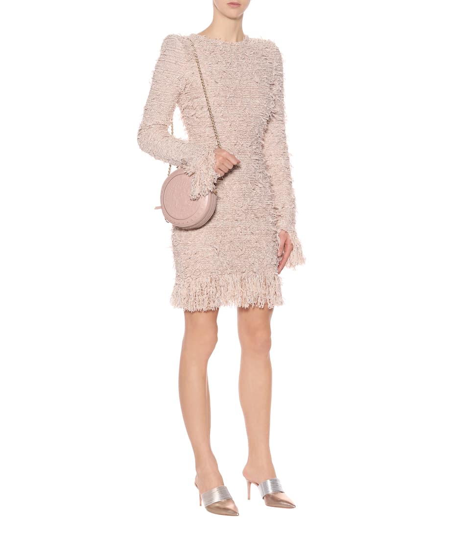 Balmain Minikleid aus Tweed