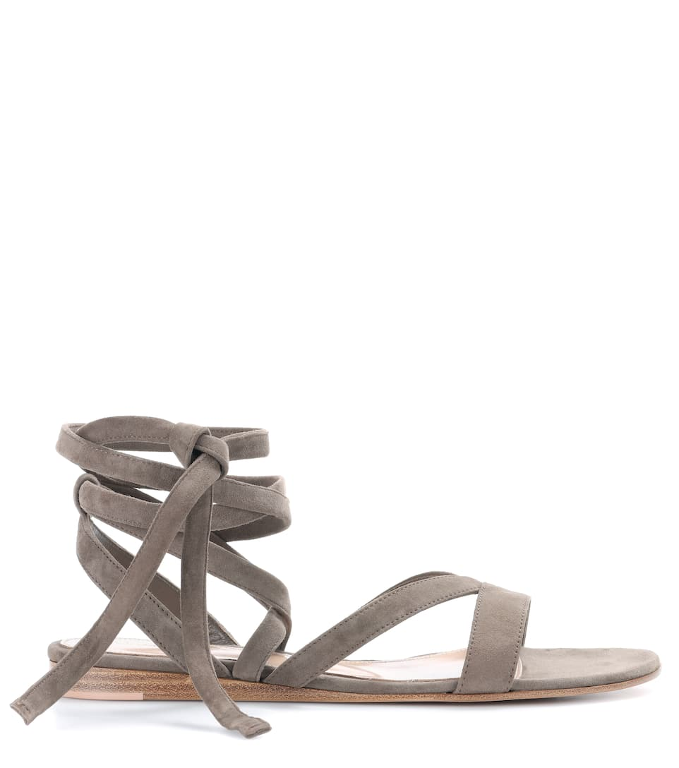 Exclusive to mytheresa.com - Janis leather sandals Gianvito Rossi LM1YYC