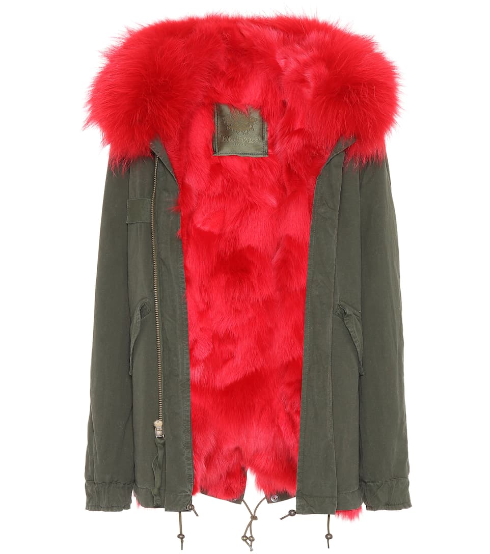 Mr & Mrs Italy Exklusiv bei mytheresa.com �?Parka London mit Pelz