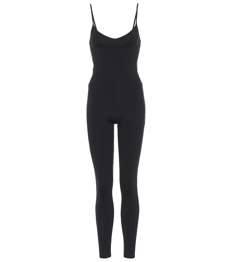 Live The Process Jumpsuit The Corset Unitard aus Jersey