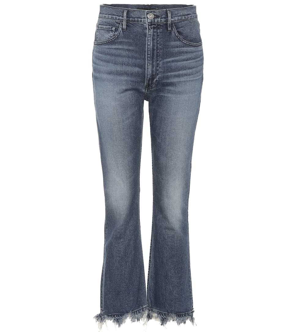 3x1 Jeans W5 Empire Crop Bell