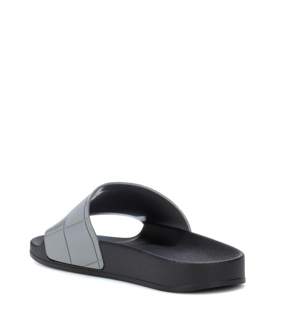 Adidas by Raf Simons Pantoletten Adilette Checkerboard