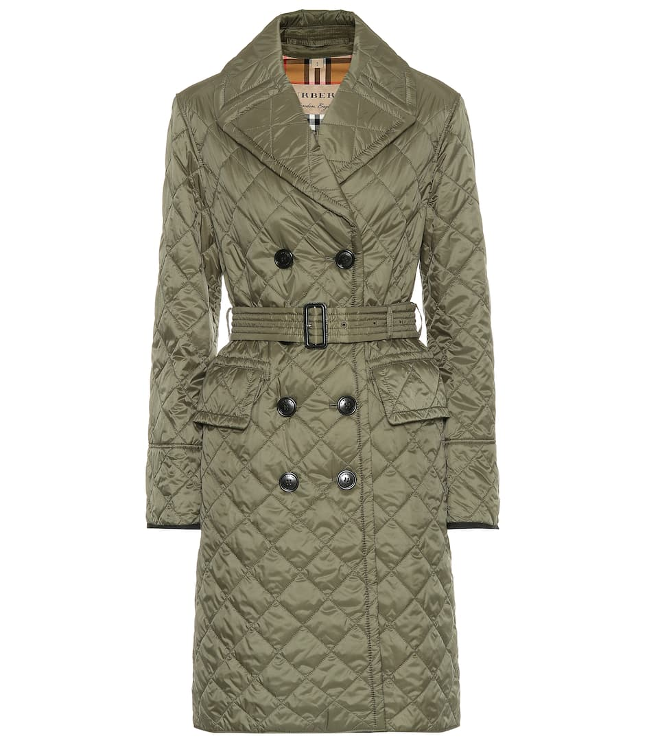 cf4d9d1f Quilted Trench Coat - Burberry | mytheresa