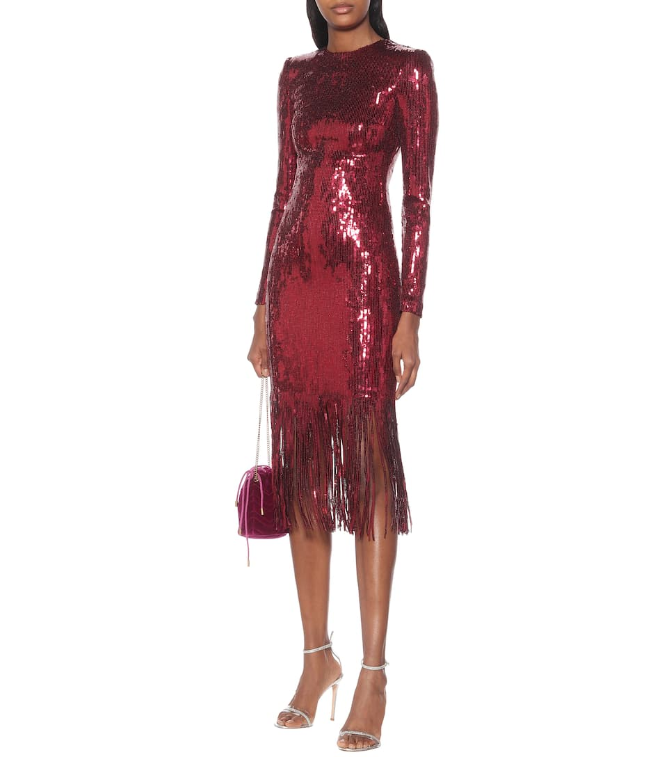 Rebecca Vallance - Matisse sequined midi dress