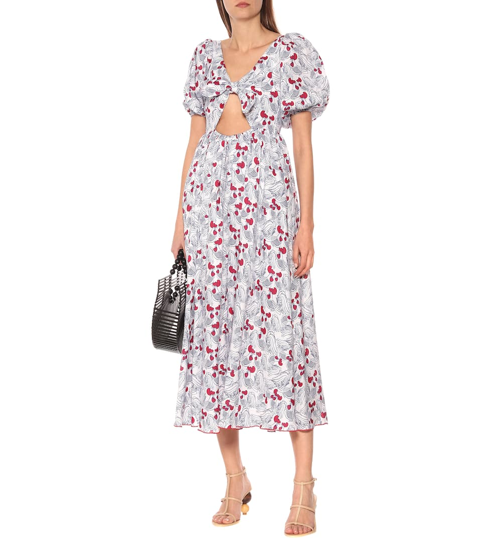 Gül Hürgel - Printed linen dress