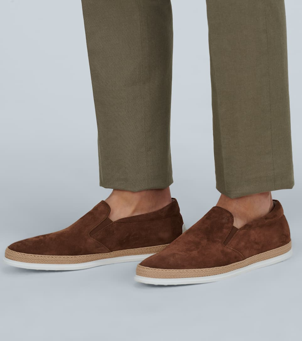 Slip-on Suede Shoes | Tod's - Big Discount