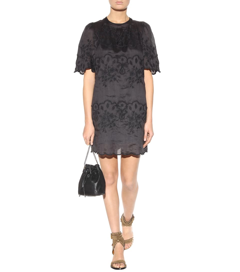 Isabel Marant Ruthel Embroidered T Shirt Dress