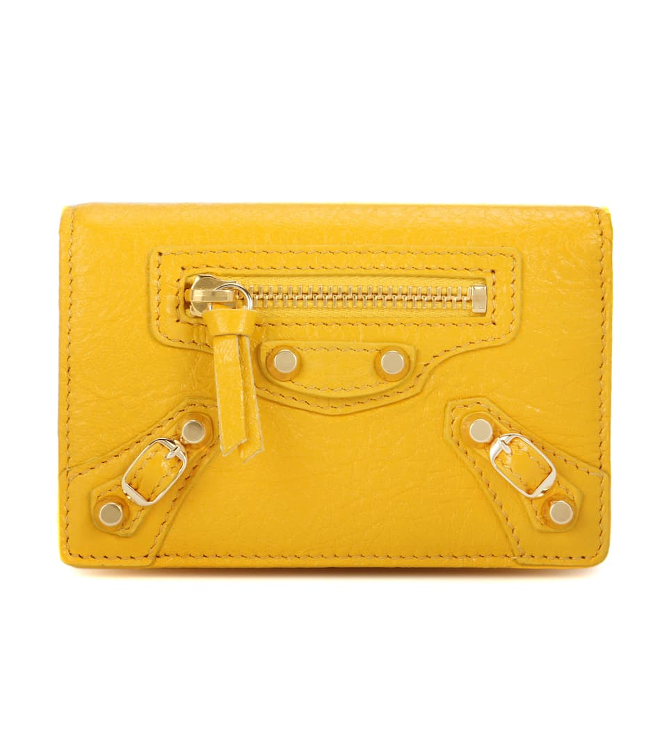 4c70ad06610 Balenciaga - Classic Card Case leather wallet | Mytheresa